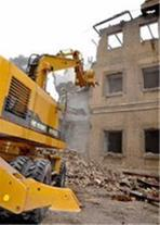 تخریب ساختمان(قزوین)