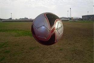 توپ فوتبال مخصوص چمن