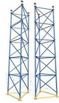 انواع داربست مثلثی و تجهیزات قالب بندی بتن طاها