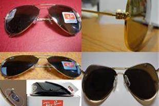 عینک ریبن rayban اصل و اورجینال شیشه قهوه ای