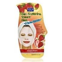 ماسک کرمی ماست و توت فرنگی (ضد جوش و شاداب کننده)