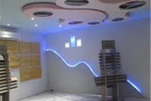 سقف  کاذب ، دیوارپوش ، پارکت ، کاغذ دیواری کناف