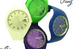 فروش ساعت مچی اسپرت ژله ای adidas