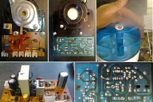 تولید و تامین لوازم وبردهای دستگاههای بخور سرد