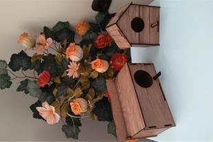 لونه پرنده و باکس حمل ونقل پرنده و همستر