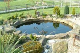احداث آبنما و برکه ، طراحی آبنما ، برکه ، حوضچه