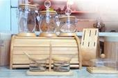 سرویس جای ادویه و حبوبات چوبی