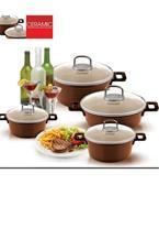 فروش عمده ظروف آشپزخانه-ظروف سرامیک-چدن-تفلون