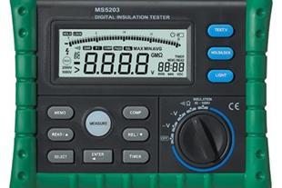 میگر - تستر عایق MASTECH 1000 ولت مدل MS5203
