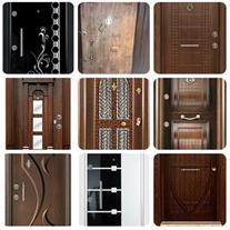 انواع درب ضد سرقت و داخلی با قیمت کارخانه