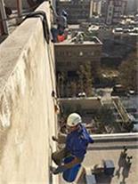 ارائه دهنده خدمات راپل در ارتفاع ،کار با طناب