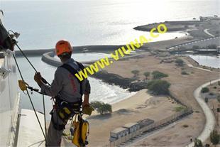 خدمات کار در ارتفاع و دسترسی با طناب