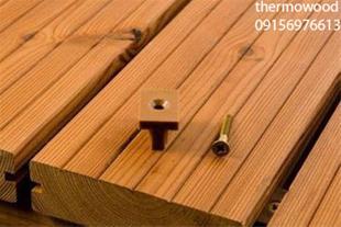 طراحی نمای ترموود ، اجرای نمای چوب طبیعی در خراسان