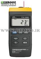 ترمومتر تماسی و غیر تماسی لوترون Lutron TM-2000