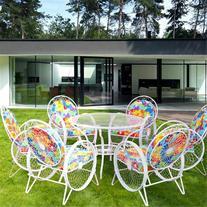 فروش سرویس میز و صندلی 6نفره ، خورشیدی