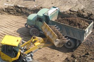 خاک برداری،شفته ریزی،حمل مصالح