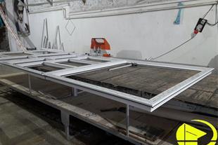 تولید درب و پنجره دو جداره upvc