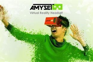 هدست  آمی سِت عینک واقعیت مجازی برای گوشی