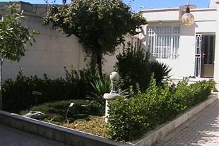 حیاط منزل