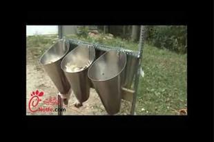 فروش قیف سربری مرغ استیل در اندازه های مختلف