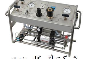 تست فشار هیدرواستاتیک کپسول فلزی و کامپوزیتی