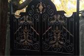 ساخت درب فلزی باغی ، درب حیاط تاب