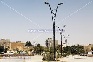 تولید انواع پایه روشنایی خیابانی نورسازان پارسه