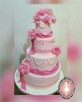 قبول سفارش فوندانتی انواع کیک مراسم