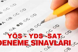 کلاس آموزشی - امتحانات آزمایشی YOS-SAT-YDS