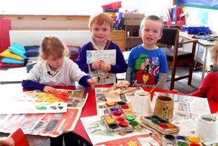 آموزش مهارت مربی نقاشی کودک
