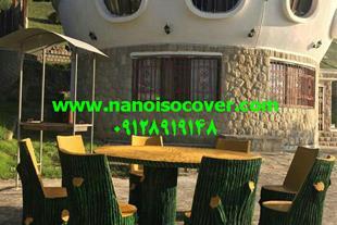 عایق پوششی بی رنگ محافظت از چوب و آلاچیق و در