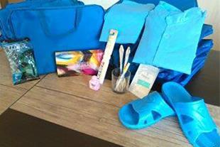 پخش انواع کیف همراه بیمار و لباس بیمارستانی