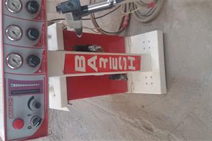 دستگاه آبکاری و رنگ الکترو استاتیک