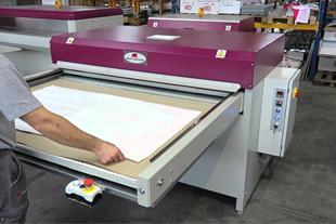 دستگاه چاپ روی پارچه - کلندر و پرس حرارتی
