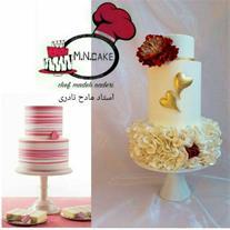 آموزش کیک تولد و کیک عروسی در انواع مختلف