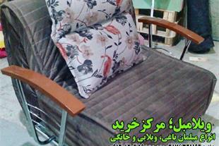 فروش ویژه کاناپه تختخوابشو دسته دار