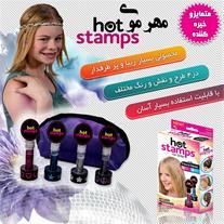مهر موی 2 بسته ای Hot stamps