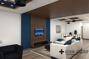 طراحی داخلی مسکونی  3d vray وی ری