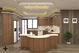 طراحی آشپزخانه مدرن 3d