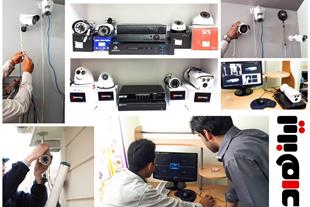 آموزش نصب دوربین مداربسته و انتقال تصاویر