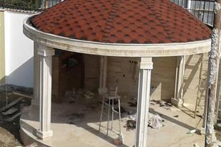 پوشش سقف ساختمان-سقفهای شیبدار- بام شمال