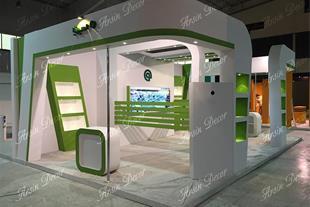 دکور غرفه نمایشگاه قطعات خودرو اصفهان