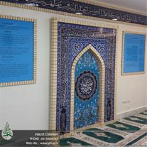 ساخت محراب و کتیبه پیش ساخته مذهبی در مشهد