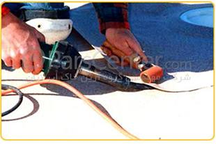 تهیه مصالح و اجرای ژئوممبران LLDPE