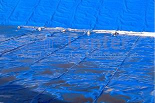 ساخت دریاچه تفریحی با ورق ژئوممبران