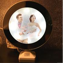 آینه با قاب عکس جادویی