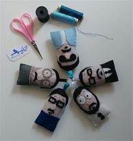 تولید عروسک های نمدی و زیور آلات دستساز میشکا