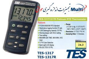 RTD ترمومتر TES-1317R
