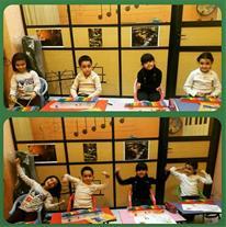 آموزش ارف کودکان -آموزشگاه موسیقی شباهنگ