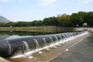 فندر اسکله rubber dam